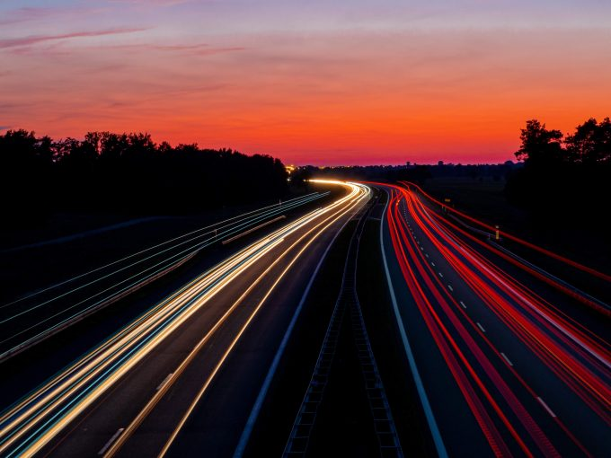 snelweg verlichting